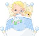 Criança com febre